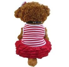 Кокетна червена рокличка