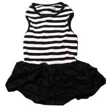 Кокетна рокличка в черно