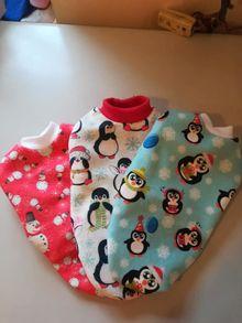 Поларени блузки с Коледни мотиви