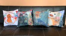 Декоративни възглавнички от микрофибър с йорки