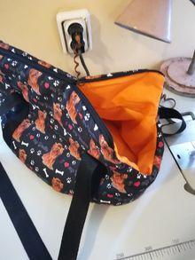 Текстилни чанти ЙОРКИ за момиченце и момченце